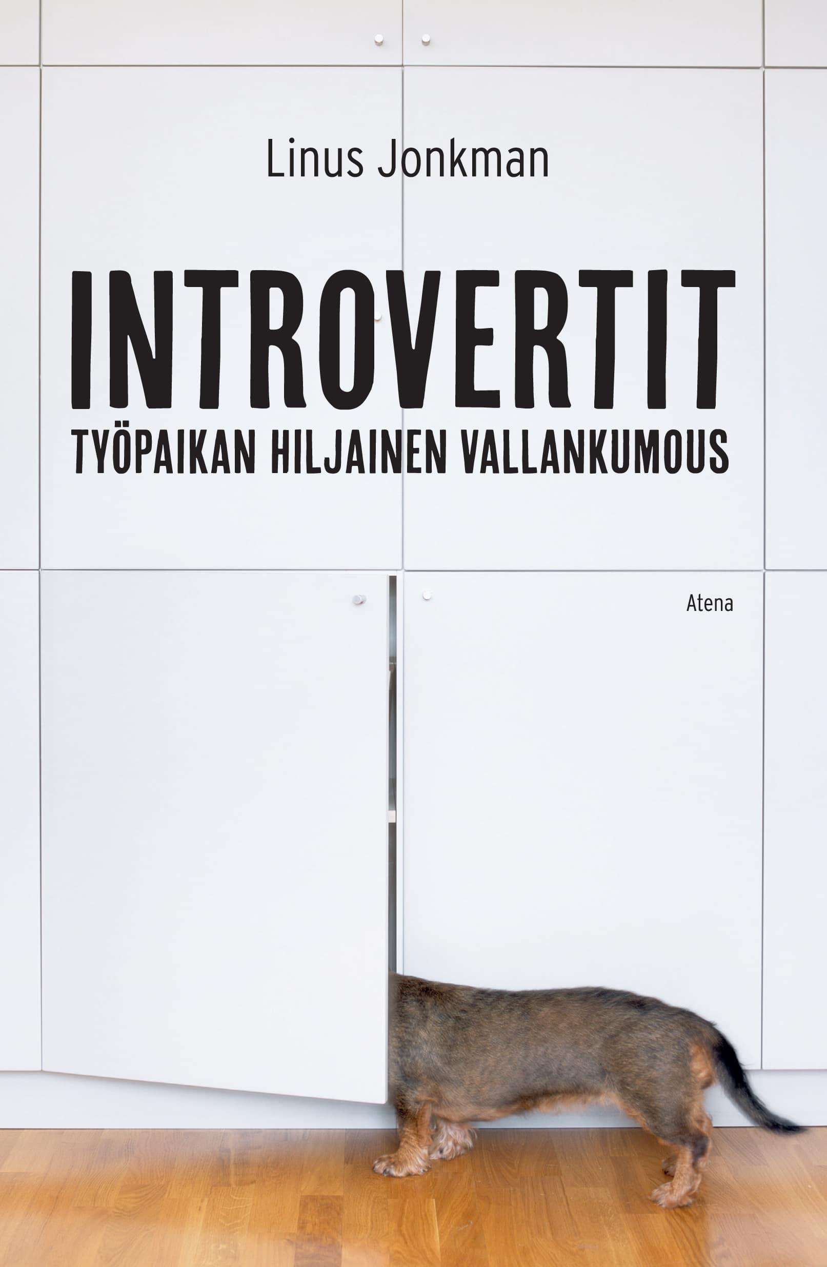 Introvertit, kirjoittanut Linus Jonkman - kirjan kansikuva
