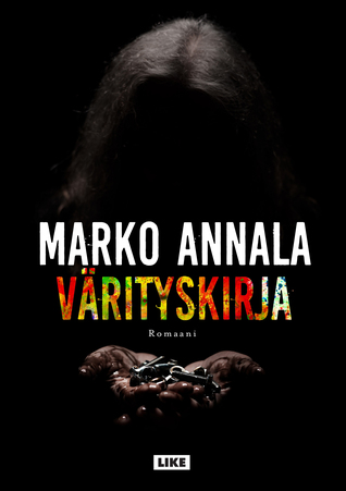 Värityskirja, kirjoittanut Marko Annala - kirjan kansikuva