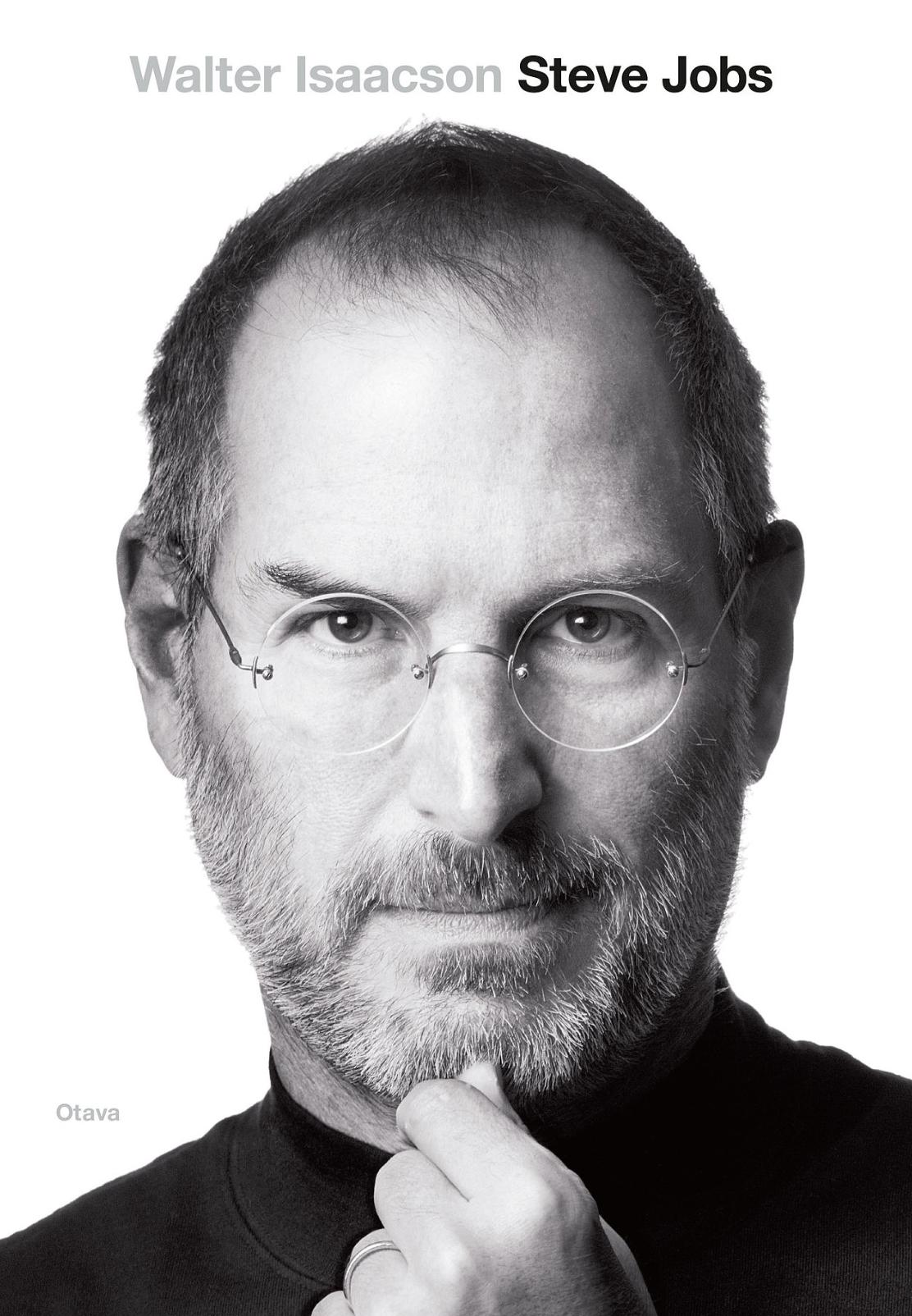 Steve Jobs, kirjoittanut Walter Isaacson - kirjan kansikuva